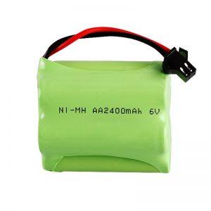 باتری قابل شارژ NiMH AA2400 6V
