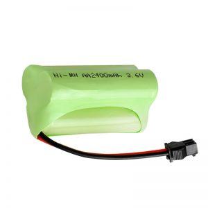 باتری قابل شارژ NiMH AA2400 3.6V