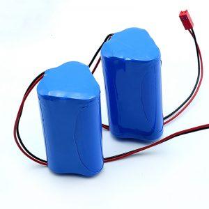 بسته باتری لیتیوم یون لیتیوم یون 3S1P 18650 10.8v 2250mah برای دستگاه پزشکی