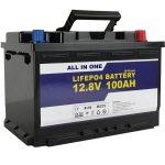 باتری GEL / AGM Solar Power Storage battery 12v 100ah LifePo4 باتری لیتیوم یون