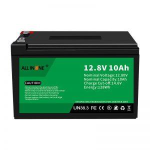 12.8V 10Ah LiFePO4 سرب جایگزین اسید لیتیوم یون باتری 12V 10Ah