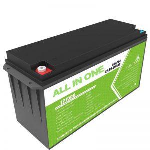 ظرفیت بزرگ 12.8v 150ah باتری لیتیوم برای ذخیره انرژی خورشیدی خانگی