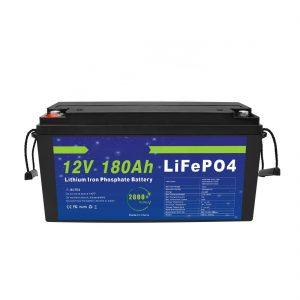 LiFePO4 باتری لیتیوم 12V 180Ah برای سیستم های ذخیره انرژی خورشیدی برای دوچرخه های برقی