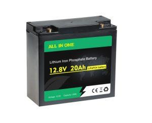 چرخه عمیق قابل شارژ Lifepo4 12V 20AH باتری یون لیتیوم OEM