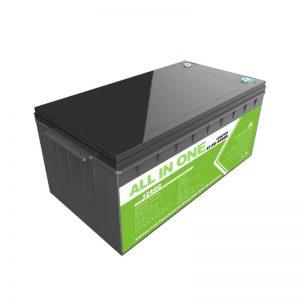 ظرفیت بالا چرخه عمیق قابل شارژ 12.8v 400ah Lifepo4 لیتیوم یون بسته باتری