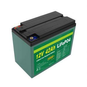 بسته باتری خورشیدی 12v 40ah 42ah Lifepo4 Cell Lifepo4 با BMS