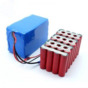 سفارشی با کیفیت بالا قیمت بالا فروش باتری 18650 24V 8.8Ah
