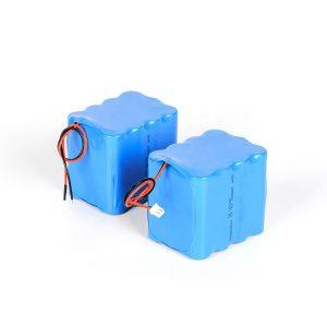 بسته باتری لیتیوم قابل شارژ 18650 باتری بالا 3s4p 12v لیتیوم یون