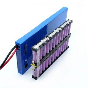 ALL IN ONE عمده فروشی 12S2P 18650 باتری یونی 44.4V 6Ah برای اسکیت برقی