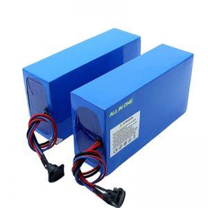 باتری دوچرخه برقی ALL IN ONE سلولهای 13S7P 18650 48v 20.3ah