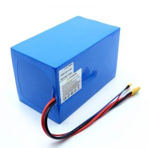 باتری لیتیوم 18650 48V 51.2AH 24v 30V 60V 15ah 20Ah 50Ah باتری های لیتیوم یون 18650 48V باتری یون لیتیوم برای اسکوتر برقی