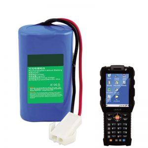 باتری لیتیوم 18650 7.2V 2.6Ah برای تجهیزات ترمینال دستی تدارکات Express