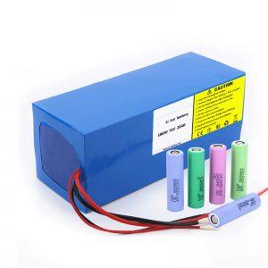 باتری لیتیوم 18650 72V 20Ah میزان تخلیه خود کم 18650 72v 20ah باتری لیتیوم برای موتورسیکلت های برقی