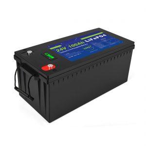 باتری لیتیوم یونی چرخه عمیق Lifepo4 24v 200ah باتری ذخیره سازی خورشیدی 3500+ چرخه بسته باتری لیتیوم یون