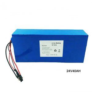 دوچرخه برقی دوچرخه 24 ولت باتری لیتیوم 24 ولت 40 آمپر NMC لیتیوم یون باتری لیتیوم یون باتری قابل شارژ