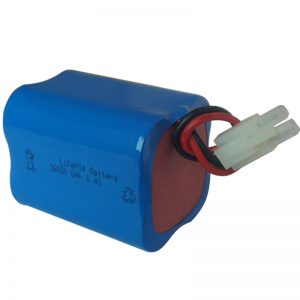 lifepo4 باتری نور خورشیدی 6.4v 6ah 2S2P قابل حمل