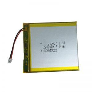 3.7V 2200mAh باتری های لیتیوم پلیمر برای دستگاه های خانه های هوشمند