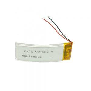 باتری سفارشی LiPO 302045 3.7V 260mAh
