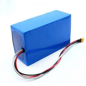 بسته باتری اسکیت بورد برقی لیتیوم قابل شارژ 36 ولت 10 آمپر لیتیوم 18650
