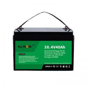 8.4V 40Ah لیتیوم آهن فسفات باتری برای VPP/SHS/Marine/Vehicle 36V 40Ah