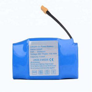 پرفروش ترین بسته باتری لیتیوم 36v 4400mah 10s2p hoverboard