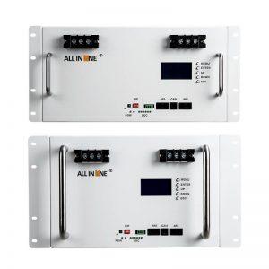 ALL IN ONE 10 کیلووات ساعت باتری 7 کیلووات ساعت 5 کیلووات ساعت LiFePo4 باتری لیتیوم 48V 100Ah 150Ah 200Ah چرخه عمیق UPS خورشیدی ذخیره انرژی پشتیبان