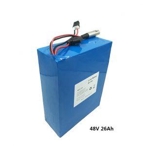 باتری لیتیوم 48v26ah برای اسکوترهای برقی etwow موتور سیکلت برقی گرافن باتری 48 ولت تولید کننده باتری لیتیوم