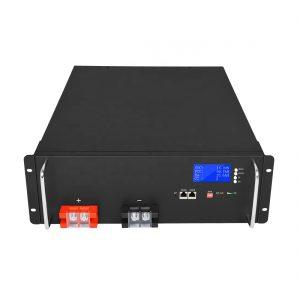 باتری لیتیوم یون با انرژی بالا 48V 50Ah LiFePO4 برای سیستم های ذخیره انرژی خورشیدی