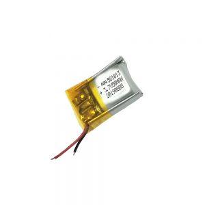 باتری لیتیوم پلیمر با کیفیت 3.7V 50mAh 581013 باتری