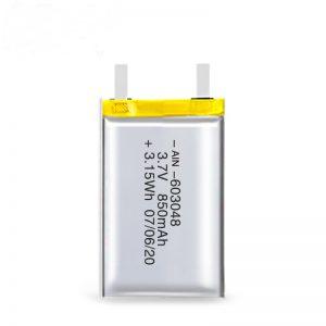 باتری قابل شارژ LiPO 603048 3.7V 850mAh / 3.7V 1700mAH / 7.4V 850mAH