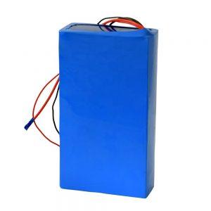 باتری لیتیوم 60v 12ah قابل شارژ برای اسکوتر برقی
