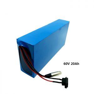 بسته باتری شارژ سفارشی 60v 20ah EV باتری لیتیوم