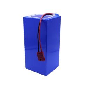 بسته باتری لیتیوم یون 60v 40ah بسته باتری لیتیوم 18650-2500mah 16S16P برای اسکوتر برقی / دوچرخه الکترونیکی