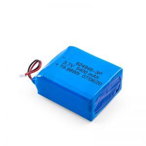 باتری قابل شارژ LiPO 624948 3.7V 1800mAH / 3.7V 5400mAH