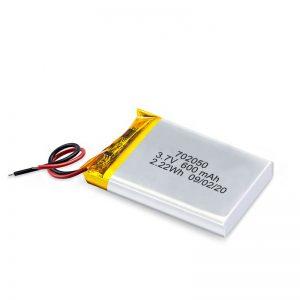 چین عمده فروشی 3.7V 600Mah 650Mah Mini Li-Polymer باتری لیتیوم باتری قابل شارژ بسته بندی برای ماشین اسباب بازی