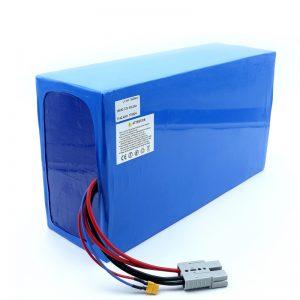 بسته باتری 18650 72v 100Ah برای موتور سیکلت برقی