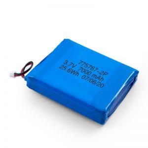 باتری سفارشی 3.7V 2450 2600 3900 4000 4500 4700 5000 6000 9000Mah Polymer Lipo