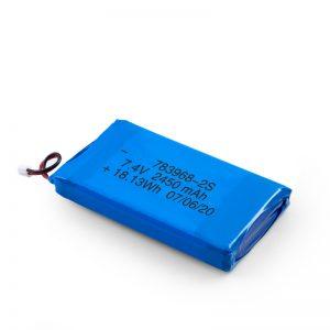 باتری قابل شارژ LiPO 783968 3.7V 4900mAH / 7.4V 2450mAH / 3.7V 2450mAH /