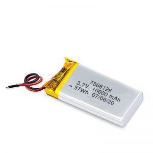 باتری قابل شارژ LiPO 7866120 3.7V 10000mAh / 3.7V 20000mAH / 7.4V 10000mAh