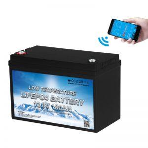 باتری 12F 100AH باتری LiFePO4 با دمای پایین
