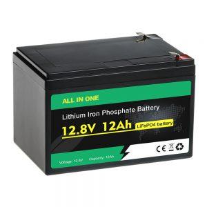 باتری 12 ولت 12 آمپر ساعتی جایگزین باتری سربی اسید LiFePO4