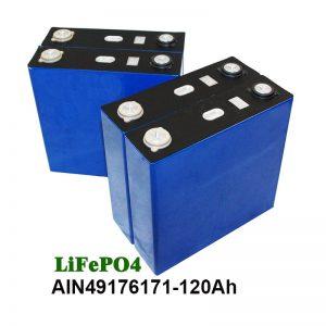 باتری Prismatic LiFePO4 3.2V 120AH برای UPS موتور سیکلت منظومه شمسی