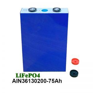 باتری Prismatic LiFePO4 Prismatic 36130200 3.2V 75AH