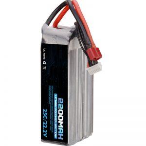 فروش گرم باتری لیتیوم پلیمر قابل شارژ 22000 mah 6s lipo