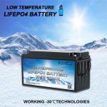معرفی کلیه باتری های فسفات آهن لیتیوم با دمای پایین