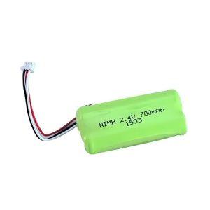 باتری قابل شارژ NiMH AA700 2.4V
