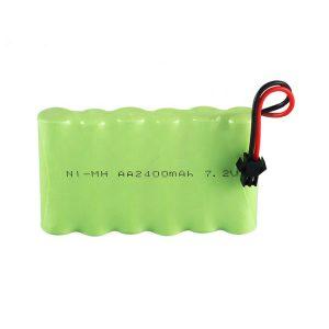 باتری قابل شارژ NiMH AA 2400mAh 7.2V