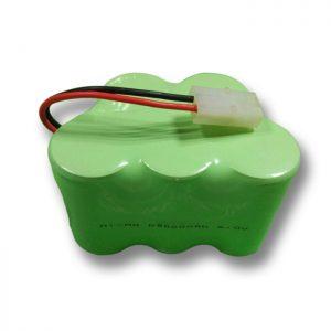 باتری قابل شارژ NiMH D9000mAH 6V