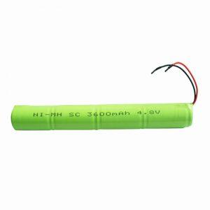 باتری قابل شارژ NiMH SC 3600mAH 4.8V