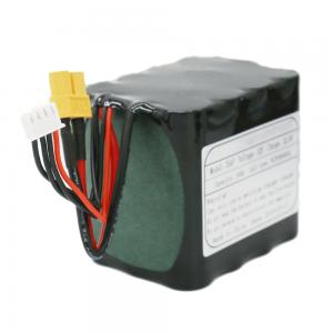 باتری قابل شارژ 18650 باتری 3S4P باتری لیتیوم یون 11.1V 10Ah برای چراغ خورشیدی